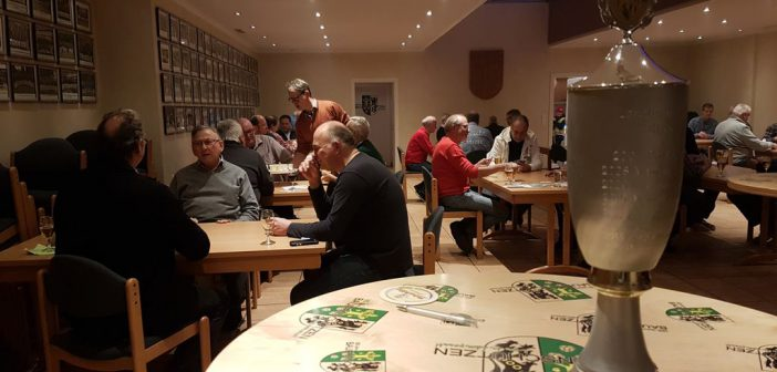 Skat Turnier 2016: Frank Pohlmann gewinnt