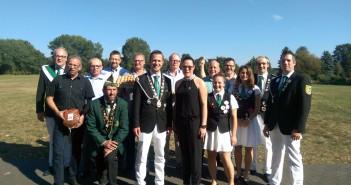 Schinkenschießen 2016: Gruppe Nord-Rheda gewinnt