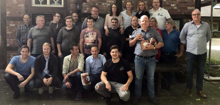 Gruppe Ludger Eickholz gewinnt das Schinkenschießen 2017