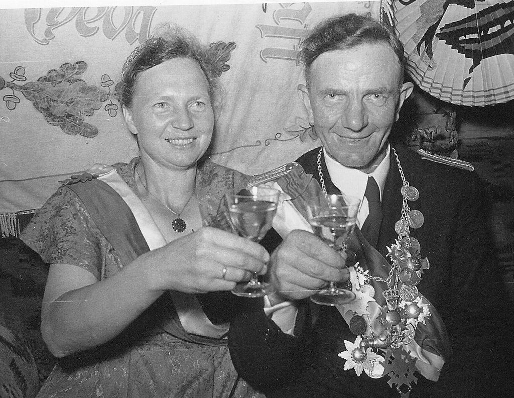 1955 - 1956         August III. Leffelmann und Marie I. Oldemeier_gross