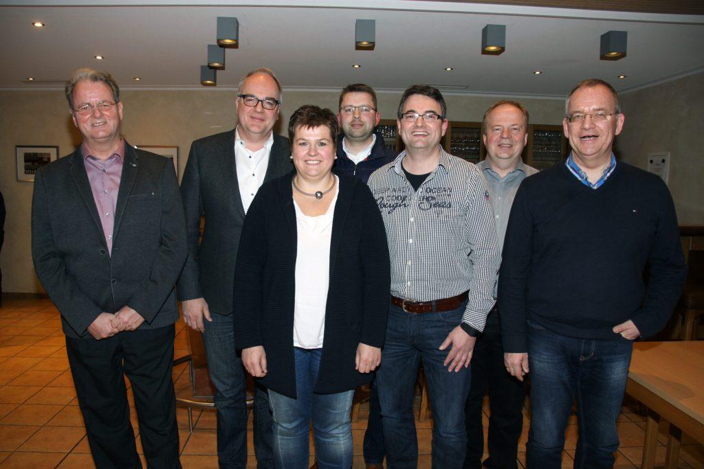 Geschäftsführender Vorstand 2017 - 2021