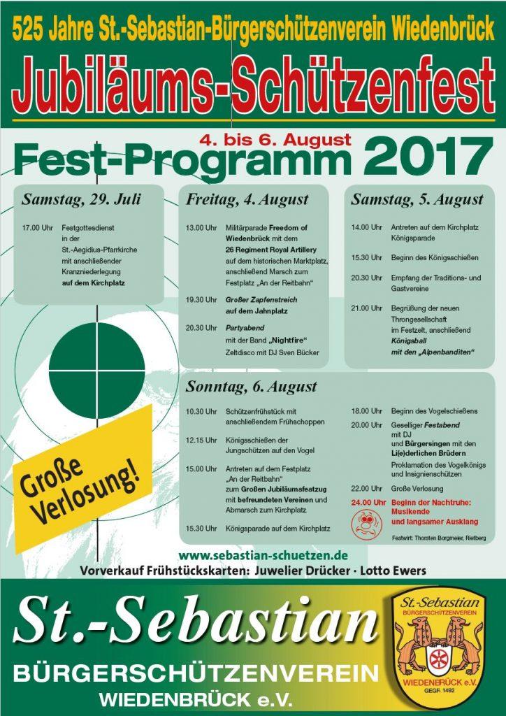 St. Sebastian Bürgerschützenfest 2017